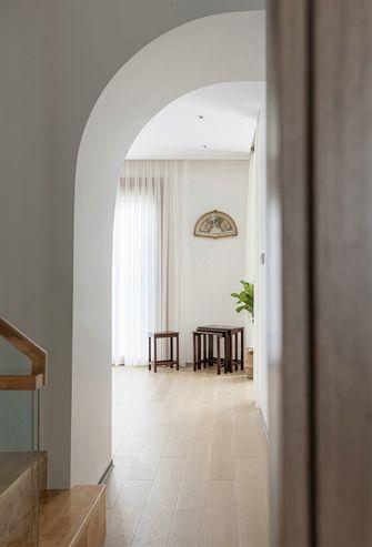 20万以上140平米复式现代简约风格楼梯间设计图