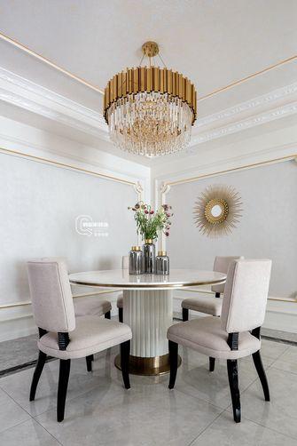 富裕型130平米复式法式风格餐厅装修效果图