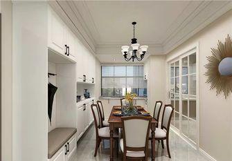 130平米三室一厅美式风格餐厅效果图