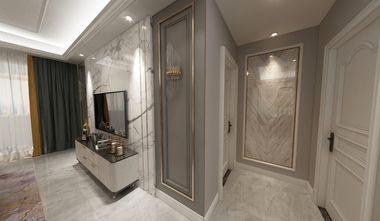 90平米三室一厅美式风格客厅装修效果图