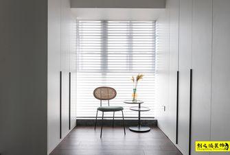 富裕型120平米三室两厅现代简约风格衣帽间设计图