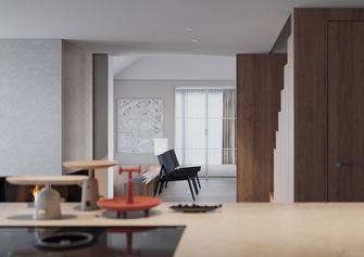 60平米复式现代简约风格客厅效果图