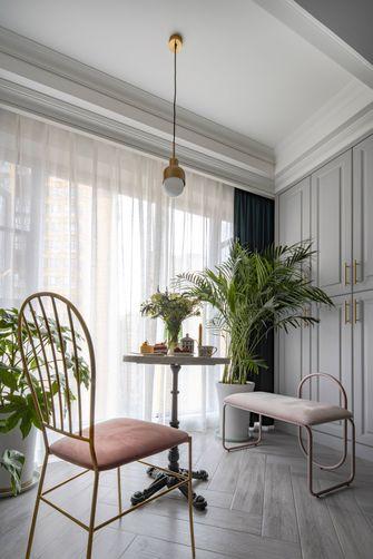 90平米三室两厅法式风格阳台装修案例