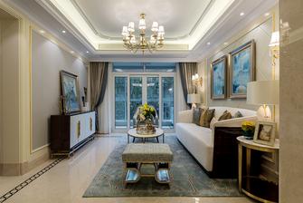 5-10万90平米法式风格客厅图