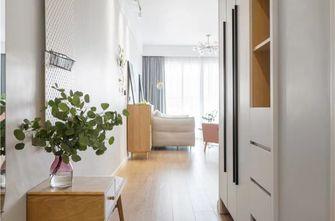 经济型90平米三室一厅日式风格玄关图