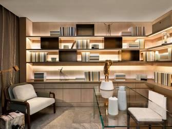 15-20万140平米四新古典风格书房装修图片大全