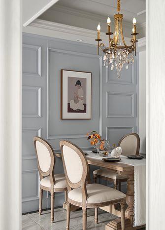 10-15万80平米三室一厅法式风格餐厅图片