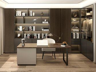 豪华型130平米四室一厅现代简约风格书房图