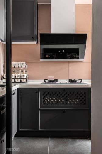 富裕型60平米美式风格厨房效果图