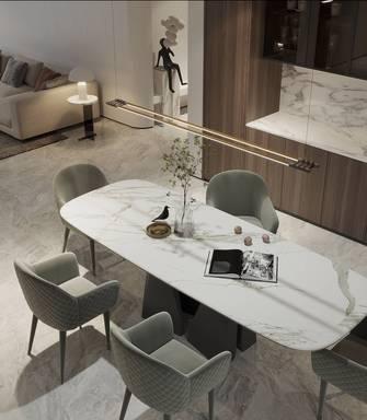 90平米一室一厅现代简约风格餐厅效果图
