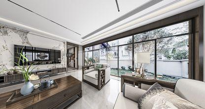 豪华型140平米别墅新古典风格客厅装修图片大全