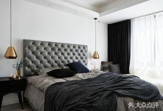 15-20万80平米三室一厅现代简约风格卧室图片大全