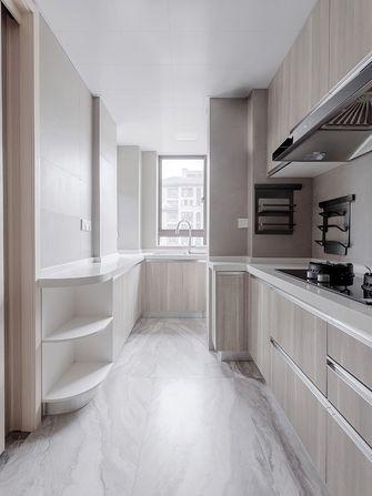 110平米三室一厅英伦风格厨房图