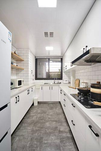 20万以上130平米三室一厅日式风格厨房设计图