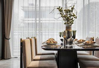 豪华型100平米三室一厅轻奢风格餐厅装修效果图