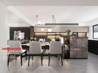 20万以上140平米别墅现代简约风格餐厅图片大全