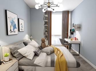 富裕型100平米现代简约风格卧室图片大全
