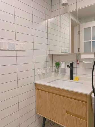 3-5万日式风格卫生间设计图