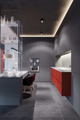 5-10万90平米现代简约风格餐厅欣赏图