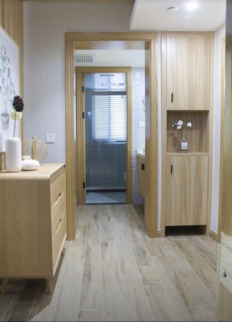 经济型80平米三室两厅日式风格卫生间欣赏图