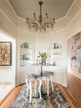 富裕型120平米三室一厅法式风格餐厅图片大全