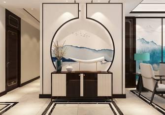 20万以上140平米三室两厅中式风格玄关图片