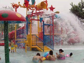 北大河生态园游泳池