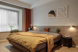 110平米三室一厅混搭风格卧室欣赏图