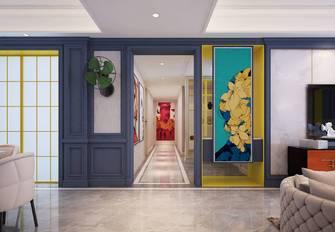 富裕型120平米三室两厅现代简约风格玄关欣赏图
