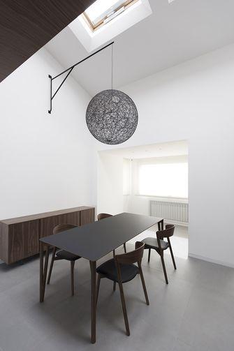 豪华型140平米三室两厅港式风格餐厅装修效果图