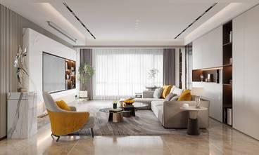 140平米四室两厅现代简约风格客厅欣赏图