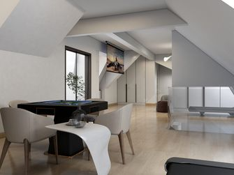 120平米三室三厅现代简约风格其他区域图