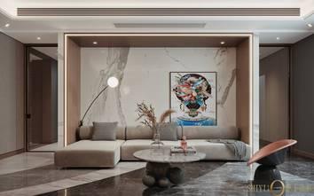 豪华型140平米别墅港式风格书房效果图
