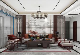 120平米三中式风格客厅图片