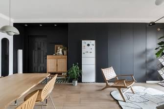 豪华型80平米现代简约风格客厅装修效果图