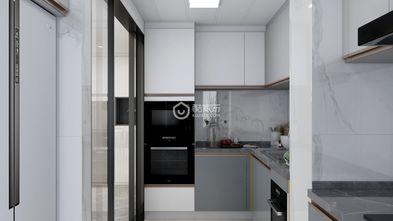140平米一室两厅北欧风格厨房装修图片大全