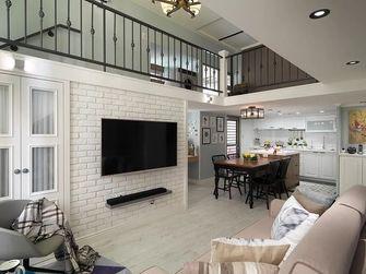 富裕型90平米公寓美式风格客厅图