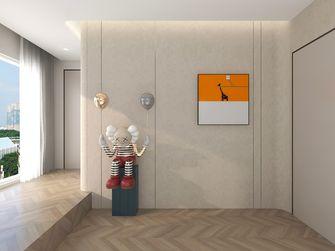 140平米三室两厅现代简约风格楼梯间设计图