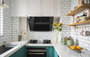 5-10万90平米三混搭风格厨房装修效果图