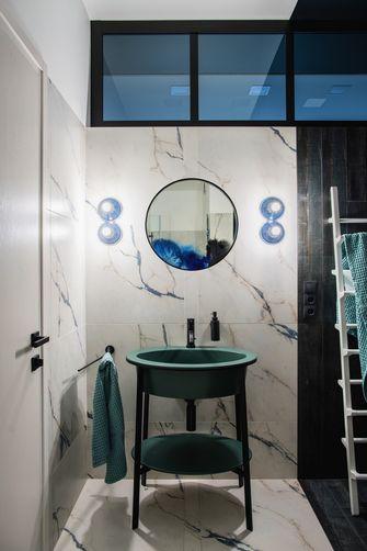 10-15万110平米三室两厅北欧风格卫生间装修图片大全