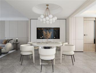 豪华型140平米别墅现代简约风格餐厅效果图