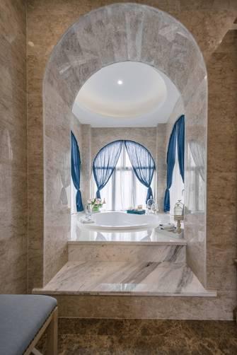 15-20万140平米别墅地中海风格卫生间欣赏图