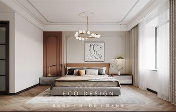 富裕型130平米法式风格卧室装修案例