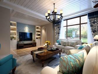 140平米四室两厅地中海风格客厅图片大全