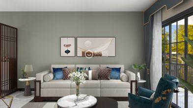 90平米三室两厅地中海风格餐厅设计图
