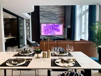20万以上140平米复式港式风格餐厅效果图