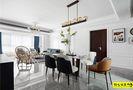 5-10万90平米三室一厅混搭风格餐厅装修效果图
