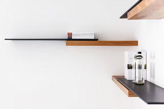 3-5万30平米小户型现代简约风格书房效果图