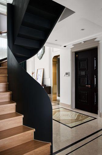 20万以上140平米复式美式风格玄关设计图