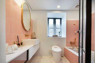 140平米三室两厅轻奢风格卫生间装修图片大全